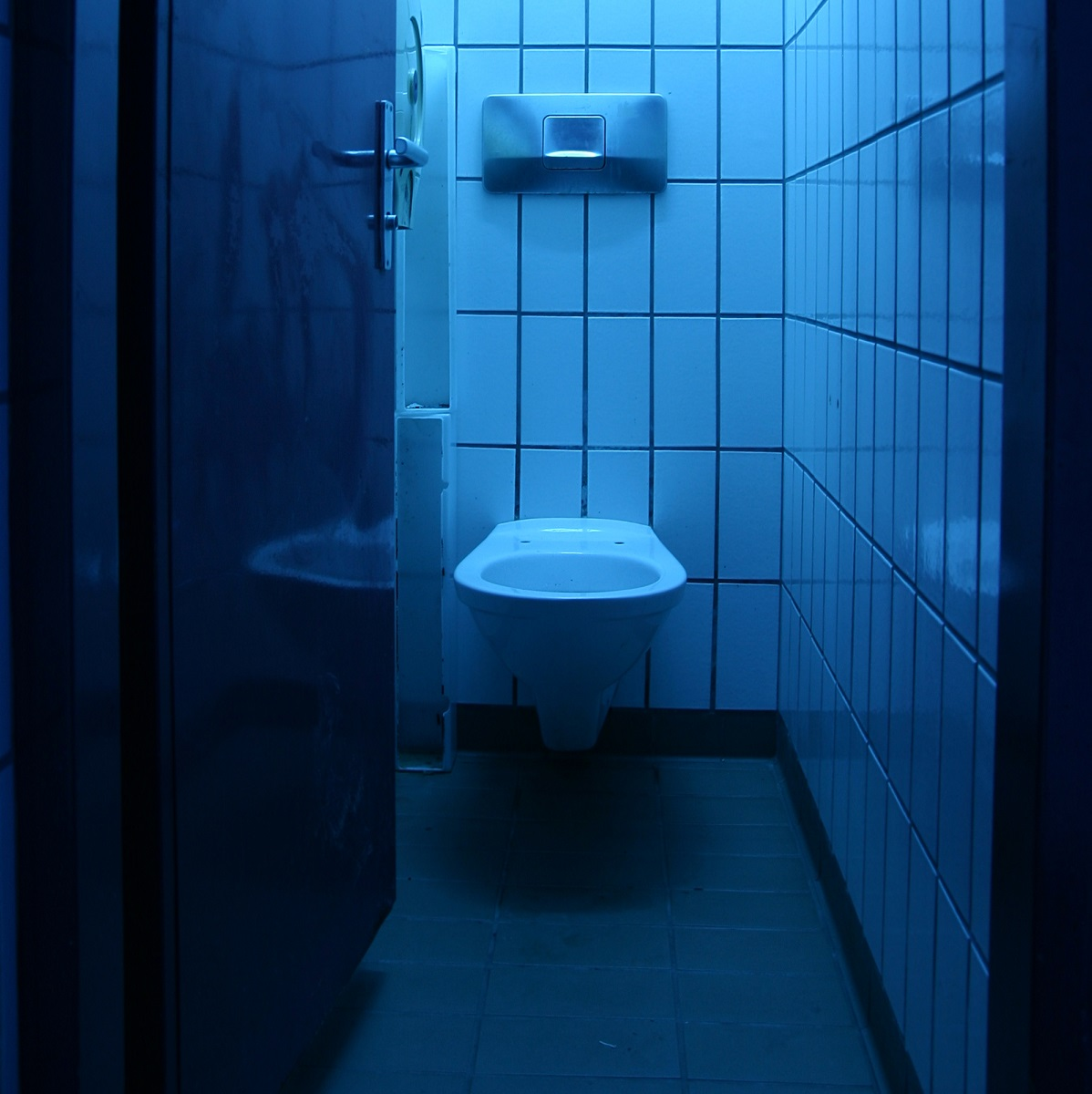 Blue Light Special: Colored Bulbs to Prevent Public Restroom Drug Use